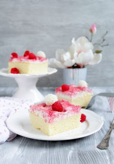Himbeer – Raffaello – Kuchen