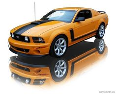 2007 Ford Mustang Saleen Parnelli Jones 302 V8