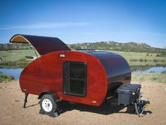 Learn how to build a custom teardrop trailer. This fairly easy and inexpensive method will have you wanting to build your own in no time.