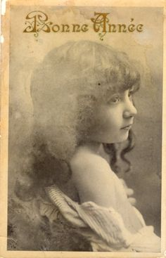 French antique postcards little girl 291 by Fairymelodycollect on Etsy antique france french girl collage photograph postcard vintage brocante letter photo postcard calligraphy manuscript