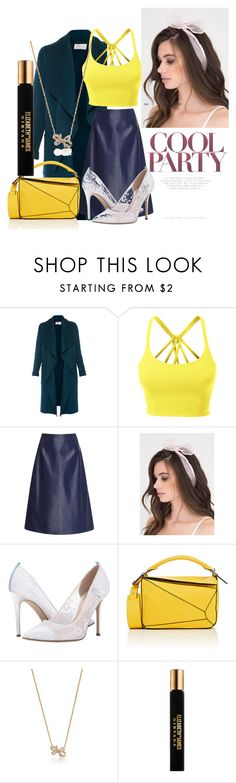"""""""Untitled #15"""" by bebebelabee on Polyvore featuring L.K.Bennett, LE3NO, SJP, Loewe, Tiffany & Co. and Elizabeth and James"""