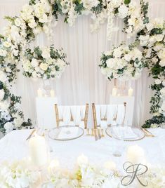 Decor by ReanneMichelle from www.theweddingdecorators.co.uk Event Decor, Wedding Events, Table Decorations, Dinner Table Decorations
