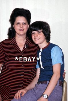Photo Young Donny Osmond with His Mother | eBay. I had a shirt just like Donny's. I still have it.