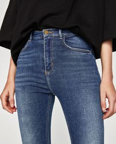Image 6 of HIGH WAIST EMBRACE JEANS from Zara