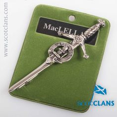 Maclellan Clan Crest Kilt Pin. Free worldwide shipping available