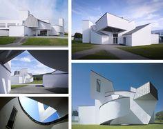 Vitra Design Campus Frank o'Gery Vitra Museum