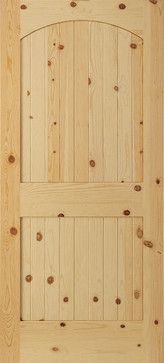 Pine Raised Two Panel Arch V-Groove Interior Door Styles, Wood Doors, Armoire, Tall Cabinet Storage, Pine, Arch, Furniture, Ideas, Home Decor
