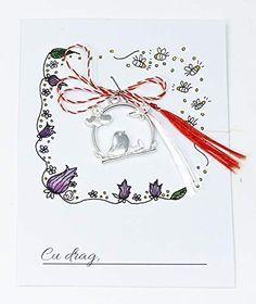 Martisor colivie cu pasare, 1 Martie,: Amazon.co.uk: Handmade Snoopy, Amazon, Handmade, Fictional Characters, Art, Art Background, Amazons, Hand Made, Riding Habit