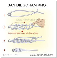 There is a lot more knots on this site also!