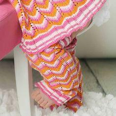 Tango Pink & Orange Chevron Legwarmers