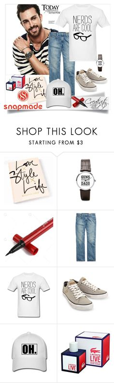 """""""Snampade"""" by creativity30 ❤ liked on Polyvore featuring Ralph Lauren, Wrangler, Lacoste, men's fashion and menswear"""
