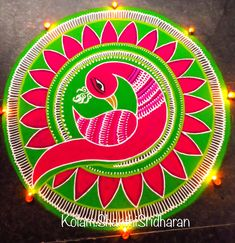 Best Rangoli Designs for Diwali. Get the latest and beautiful images and designs here on happy Shappy Rangoli Designs Peacock, Best Rangoli Design, Indian Rangoli Designs, Simple Rangoli Designs Images, Rangoli Designs Latest, Rangoli Border Designs, Small Rangoli Design, Rangoli Patterns, Colorful Rangoli Designs