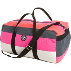 going to order this seriously cute roxy duffel
