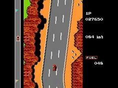 Road Fighter (NES) - YouTube
