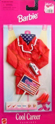 Barbie Cool Career Fashions - BARBIE FOR PRESIDENT (1997 Arcotoys, Mattel) by Arcotoys, Inc. A Mattel Company, http://www.amazon.com/dp/B000PJDUA8/ref=cm_sw_r_pi_dp_r7Msrb1ESQAYD