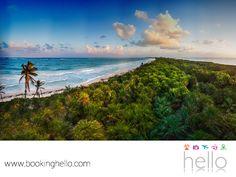 VIAJES PARA JUBILADOS. La Biósfera de Sian Ka'an, es uno de los lugares más asombrosos que tiene el Caribe mexicano por su gran variedad de vegetación. Entre la fauna que podrás admirar en este sitio, se encuentran pumas, monos, jaguares, ocelotes y aves de bello plumaje. En Booking Hello, te recomendamos visitar este majestuoso lugar, durante tu viaje por el Caribe mexicano. #viajesparajubilados