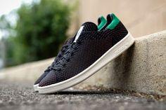 "adidas Stan Smith Primeknit ""Black/Green-Orange"" gotmysneakers.com/2015/06/adidas-stan-smith-primeknit-blackgreen.html"