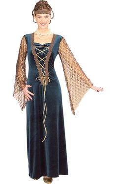 Lady Guenivere Costume £28.49 : Direct 2 U Fancy Dress Superstore. http://direct2ufancydress.com/lady-guenivere-costume-p-3358.html