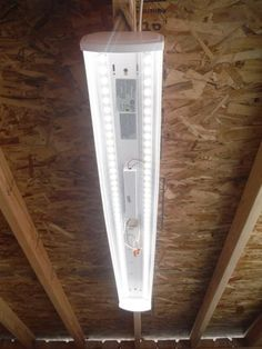 LED work light for garage