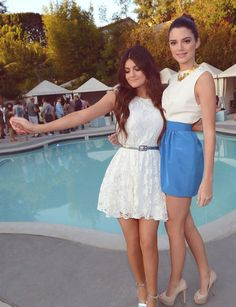 Such cute outfits from the Jenner girls!