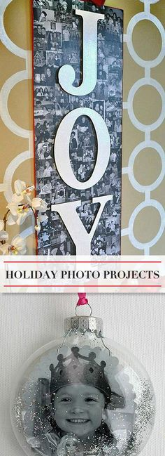 Holiday Photo Projects • Ideas & Tutorials!