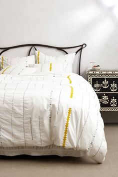 20 Modern Duvet Covers to Make Over Your Bedroom via Brit + Co.