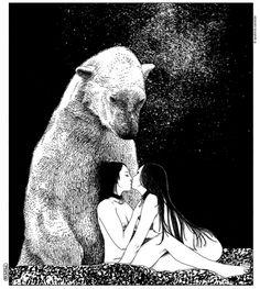 bear ... Apollonia Saintclair