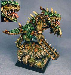 Great paint scheme for a Lizardman army