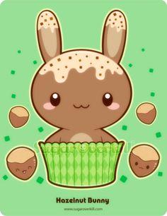 Hazelnut Truffle Bunny by mAi2x-chan.deviantart.com on @deviantART