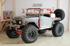 Toyota FJ40 Open Top - RC-Twister