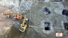 Supervisión de obra. CDMX. #drones #construcción #inmobiliario