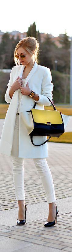 street style ~ Celine bag