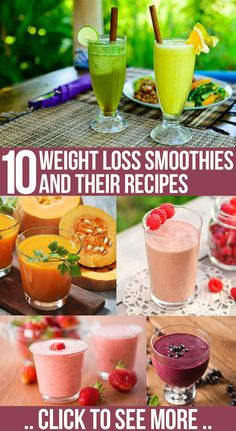 Top 10 Weight Loss Smoothies And Their Recipes