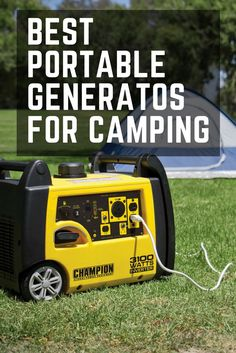 Check out selection of portable generators for your next RV or camping trip! We've put together side by side comparison of the bestselling generators. Best Portable Generator, Camping Generator, Camping Spots, Camping Hacks, Camping Ideas, Camping Stuff, Best Travel Gadgets, Best Places To Camp, Rv Campers