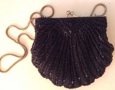 My beaded shell purse:)
