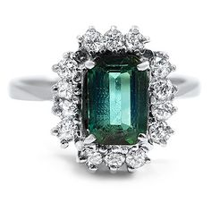 14K White Gold The Lyris Ring from Brilliant Earth