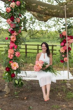 Last month, I featured Part 1 of the Tallulah Rose Flower School's Wedding Flower Course Retreat, which took place in May. Wedding Mandap, Wedding Stage, Wedding Receptions, Outdoor Wedding Decorations, Stage Decorations, Moroccan Theme, Red Peonies, Flower Lights, Floral Foam