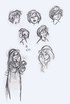 Taran head concepts by Milt Kahl