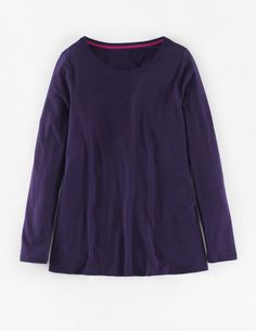 Supersoft Swing Top WL937 Long Sleeved Tops at Boden