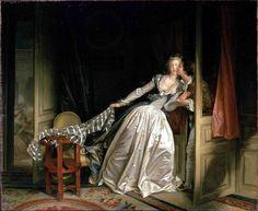 Fragonard, baiser à la dérobée.