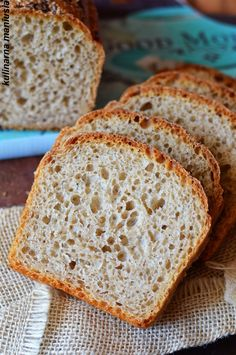 Yeast Bread, Breakfast For Dinner, Bread Rolls, How To Make Bread, Bakery, Good Food, Food And Drink, Cooking Recipes, Banana Bread