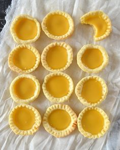 Hong Kong Egg Tarts by thewoksoflife.com I LOVE these little tarts--warm from the oven--can't wait to try to make them myself!!
