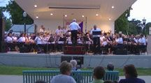 Thursday night Muny band concerts