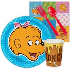 The Berenstain Bears Snack Party Pack from BirthdayExpress.com