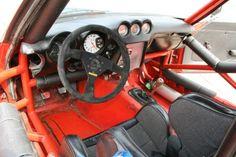 1972 DATSUN 240Z SCCA (Red/White/Blue) - Cockpit