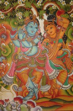 16 ideas painting canvas wine design studios for 2019 Mysore Painting, Kerala Mural Painting, Kalamkari Painting, Krishna Painting, Indian Art Paintings, Madhubani Painting, Painting Canvas, Fabric Painting, Oil Paintings