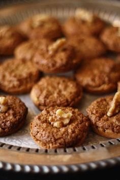 Walnut Cup Cookies