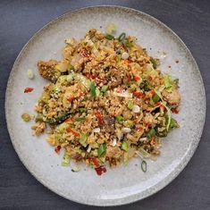 Chicken fried Rice LCHF / Blomkålspytt