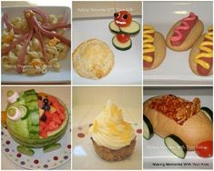 "Blog with lots of ""fun foods"" for kids!"
