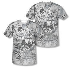 Batman DC Comic Tale of The Dark Knight Sublimation ALL OVER Vintage T-shirt top  Available In Sizes:Small, Medium, Large, XL, 2XL #Batman #BruceWayne #TheDarkKnight #DCComics  #Vintage #TheCapedCrusader #BatLogo #BatSymbol #BatSignal #JusticeLeague #GothamCity #BatmanTshirt